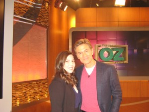 Dr. Sari Locker and Dr. Oz